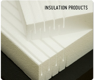 Insulation : Polystyrene and Foam