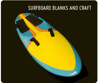 Surfboard : Polystyrene and Foam